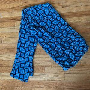 NWOT blue geometric print LLR leggings t/c